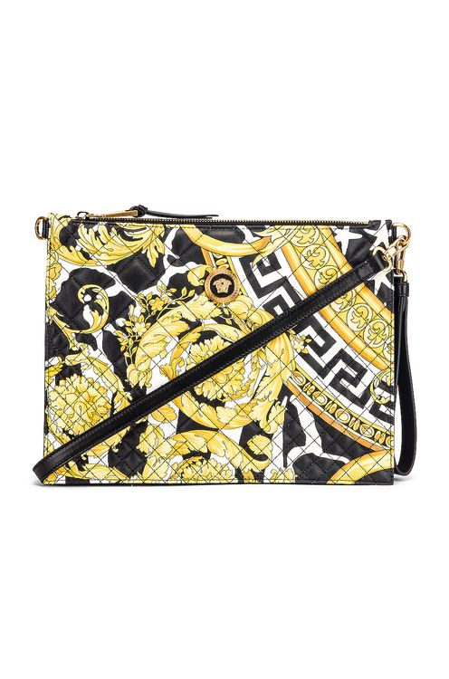 Versace Quilted Icon Pouch Bag