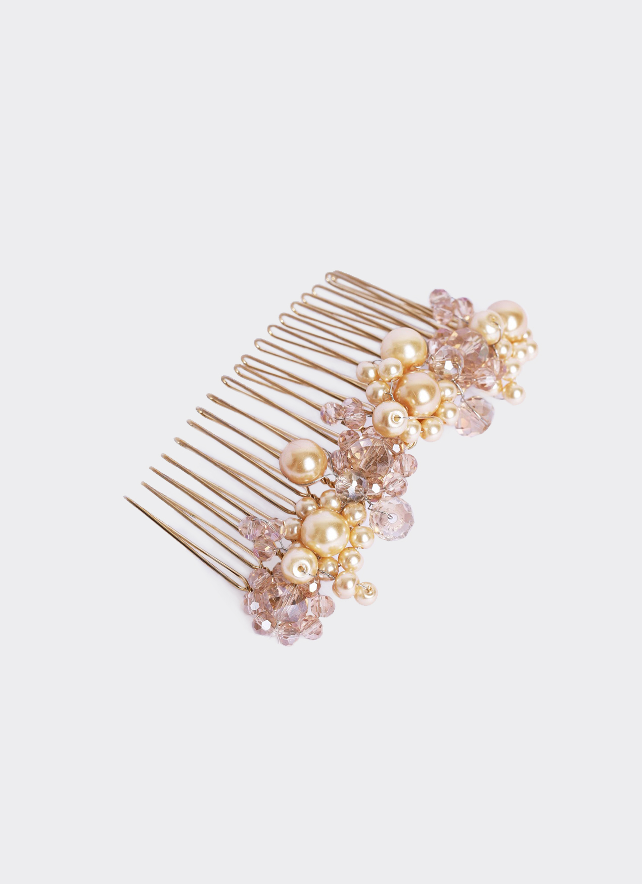 Soreyn Belle Hair Comb - Rose Gold