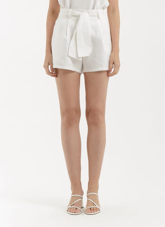 CLOTH INC Louise Shorts - White