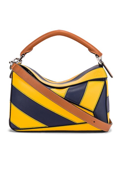 Loewe Puzzle Rugby Small Bag