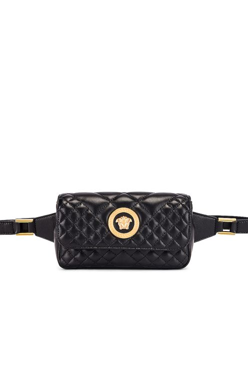 Versace Quilted Tribute Belt Bag