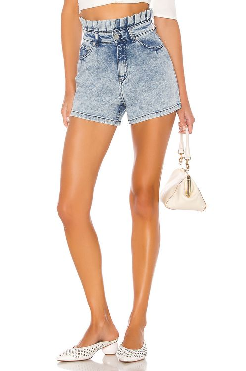 Paper London Pluto Denim Shorts