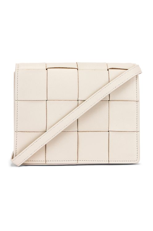 Bottega Veneta Woven Leather Crossbody Bag