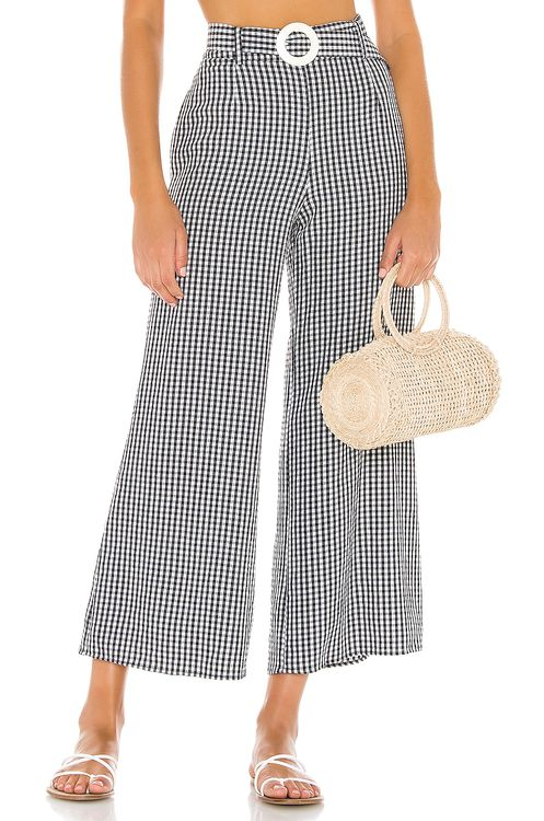 Solid & Striped Palazzo Pant