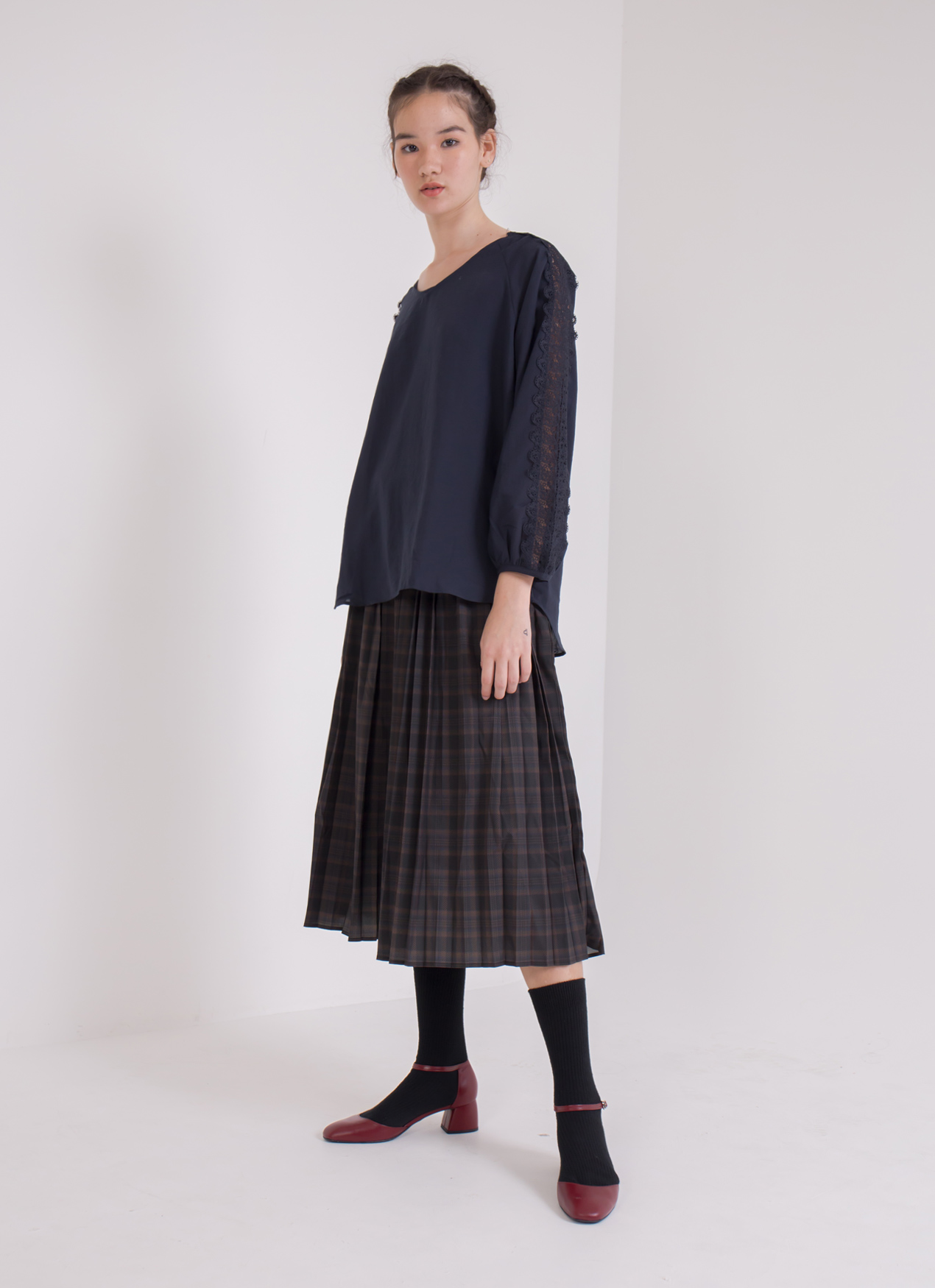 Earth, Music & Ecology Abby Top - Navy