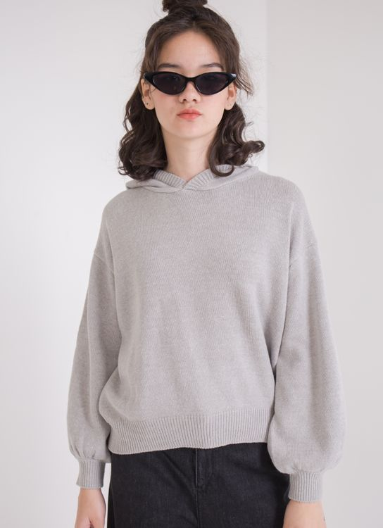 Earth, Music & Ecology Patricia Top - Light Gray Melange