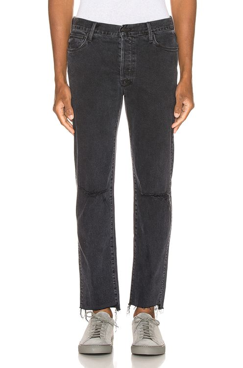 MOTHER The Neat Ankle Step Fray Jean