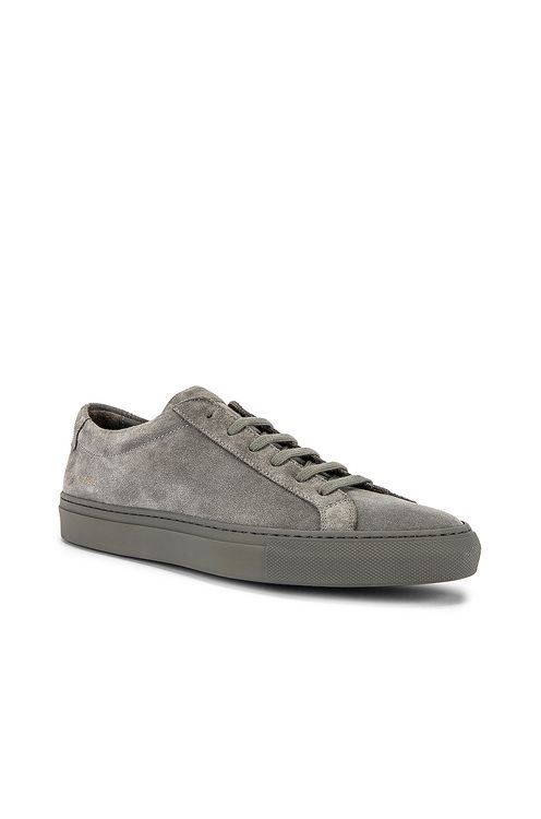 Common Projects Original Achilles Suede Low Sneaker