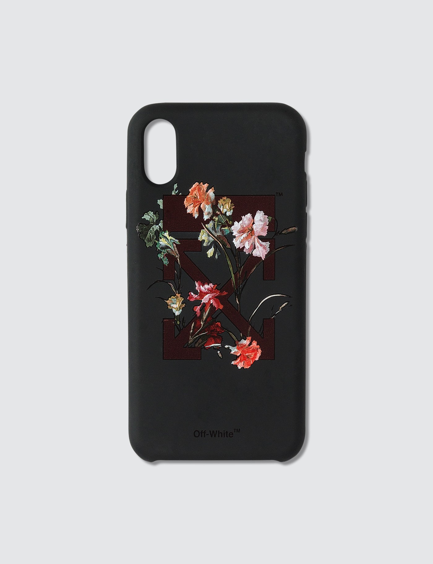 reputable site f7ffd d1364 Floral Print Iphone X Case, Off-White