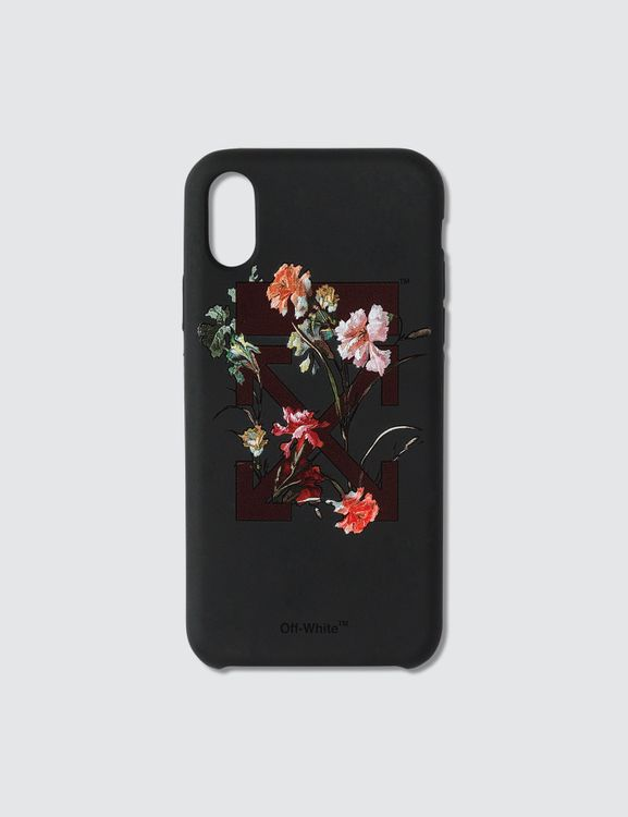 Off-White Floral Print Iphone X Case
