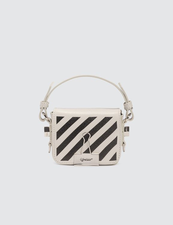 Off-White Diag Baby Flap Crossbody Bag