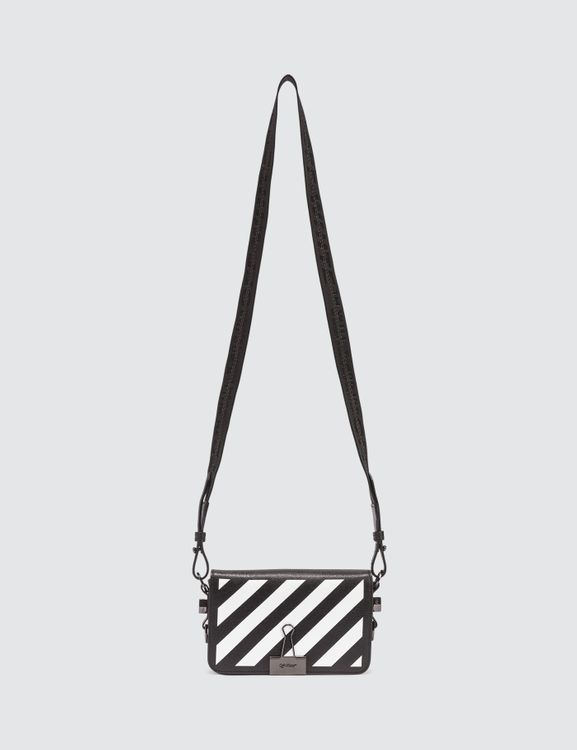 Off-White Diag Mini Flap Crossbody Bag