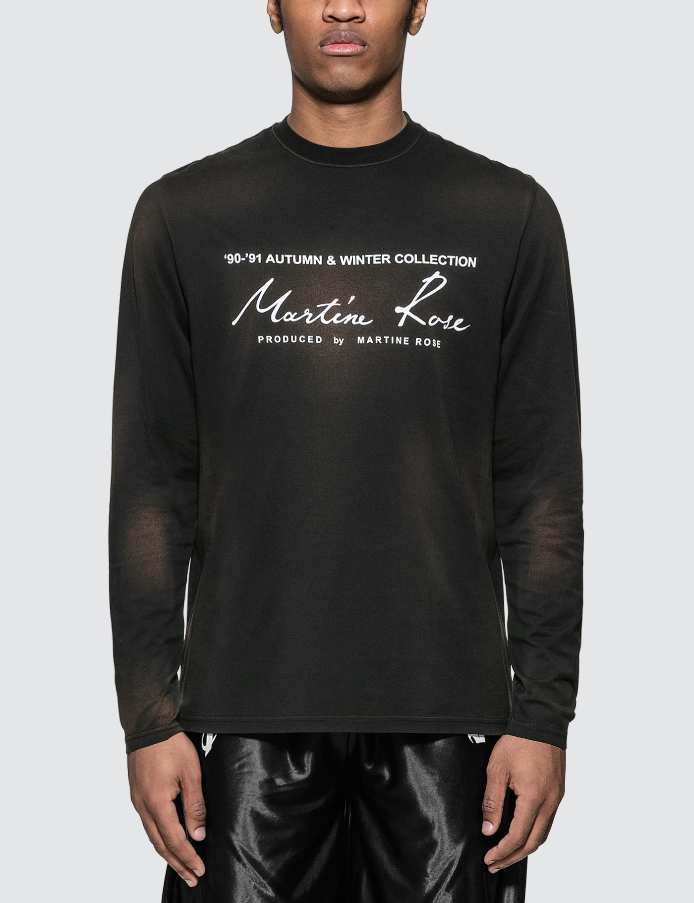 Martine Rose Classic Long Sleeve T-Shirt