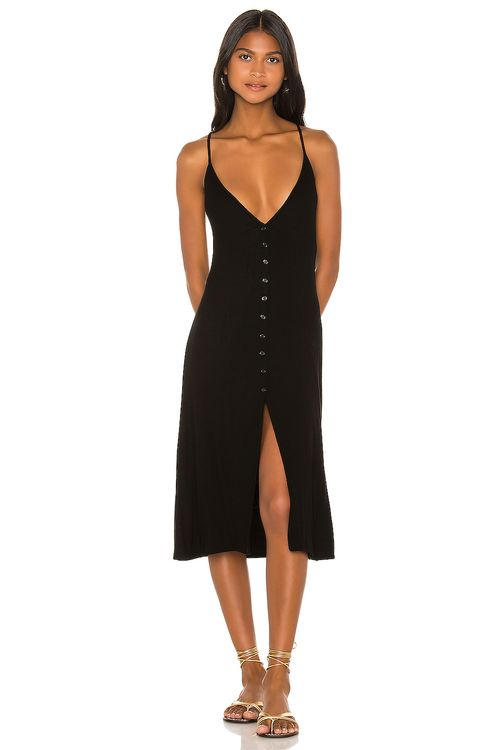 Michael Lauren Sailor Midi Dress