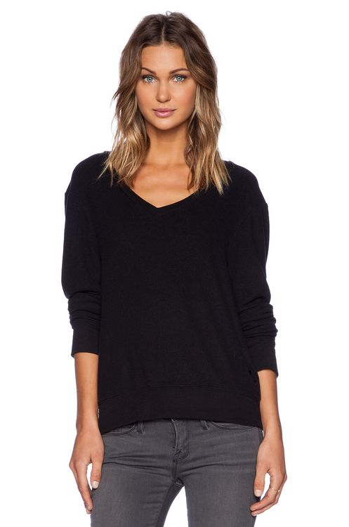 Wildfox Couture Baggy Beach V-Neck Top