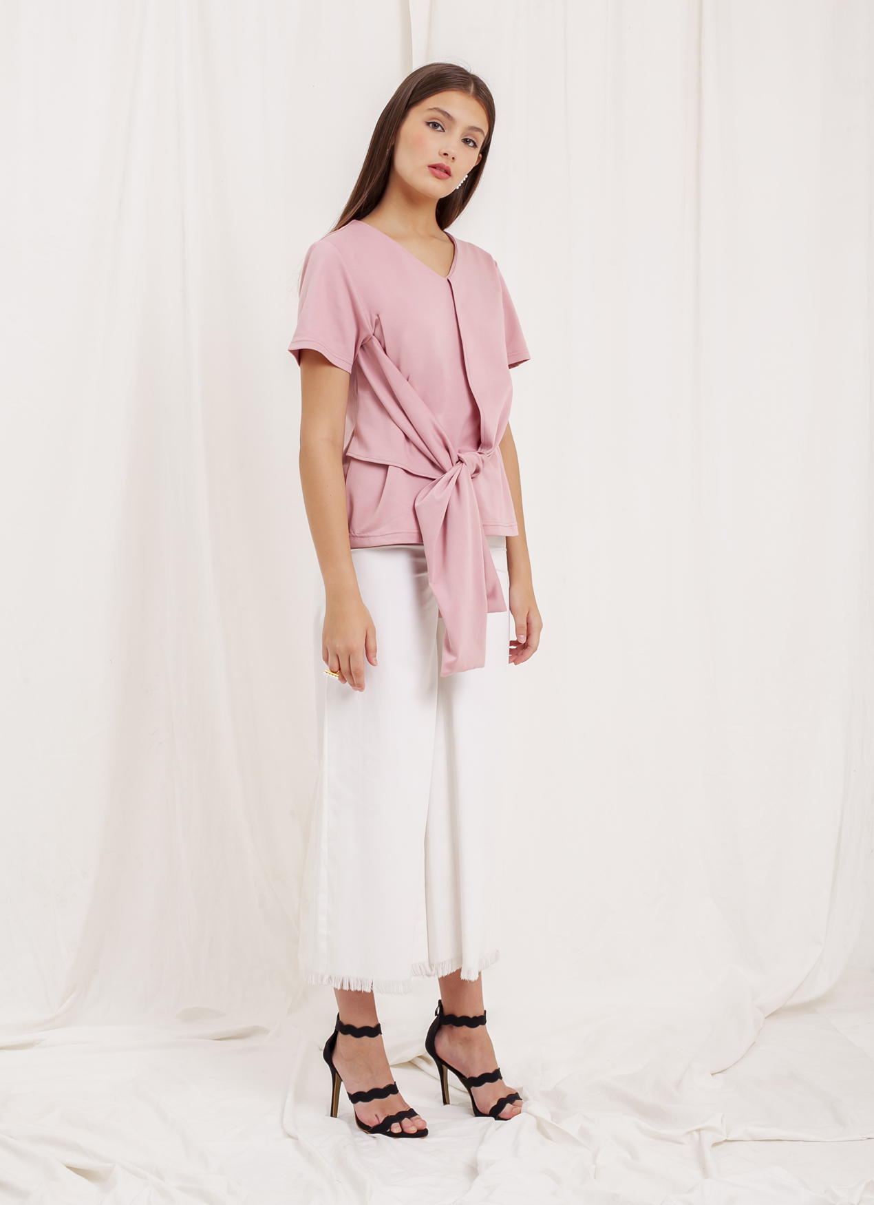 Krom Collective Linea Top - Pink
