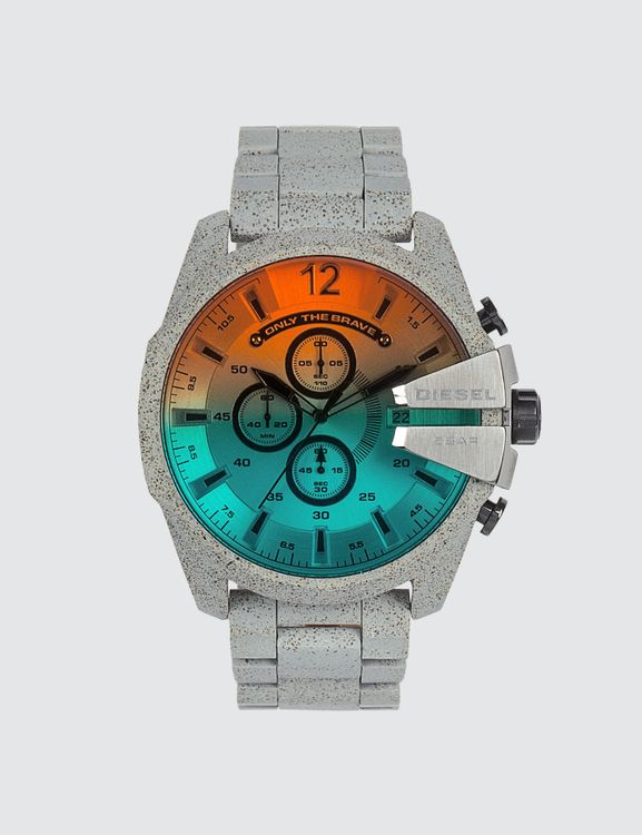 Diesel Mega Chief Concrete Watch
