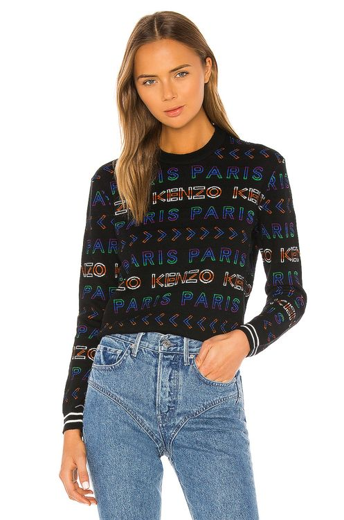 KENZO All Over Kenzo Paris Pullover
