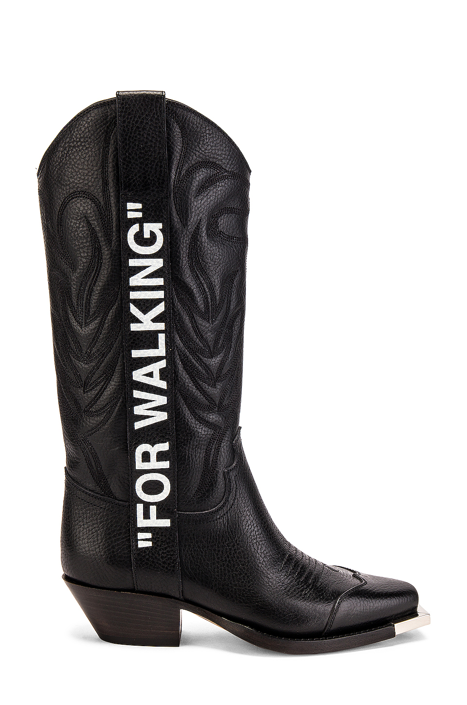 modern style running shoes most reliable For Walking Cowboy Boot, OFF-WHITE