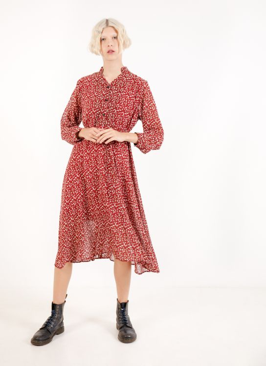 BOWN Lesley Dress - Red