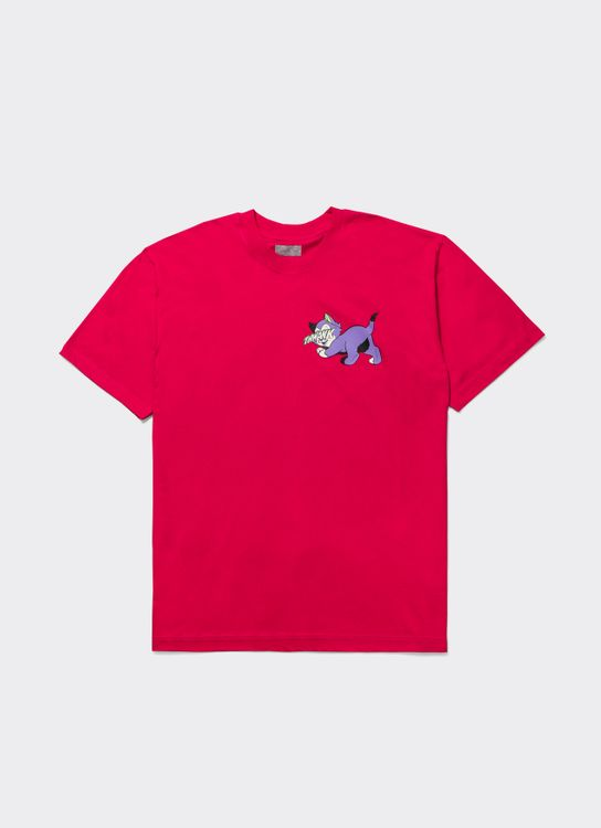 The Damn Purple Cat T-Shirt - Pink