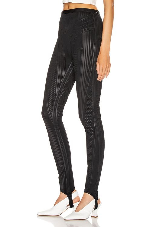 Mugler Embossed Bicycle Pant