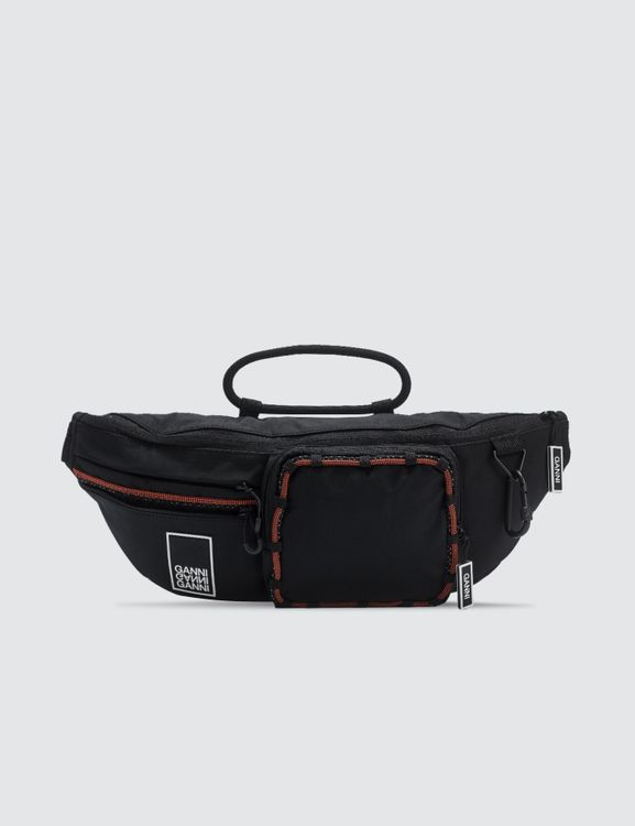 Ganni Tech Fabric Fanny Pack