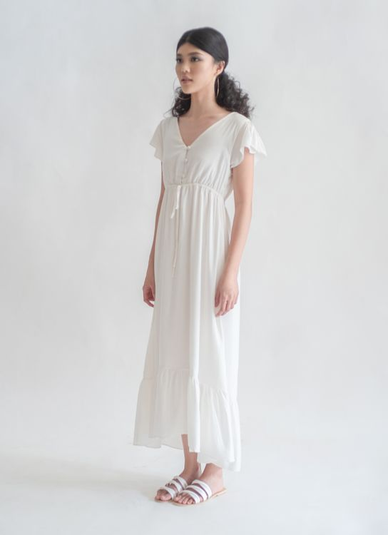 Novere Nissa Dress - White