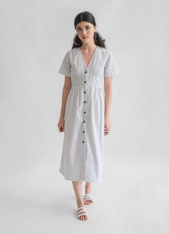 Novere Perissa Dress - Stripes