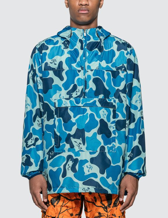RIPNDIP Nerm Camo Packable Anorak Jacket