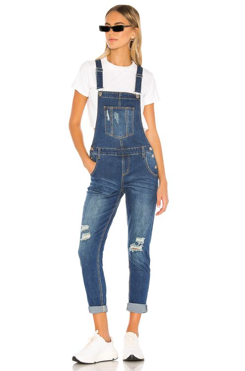 super down Gia Denim Overalls