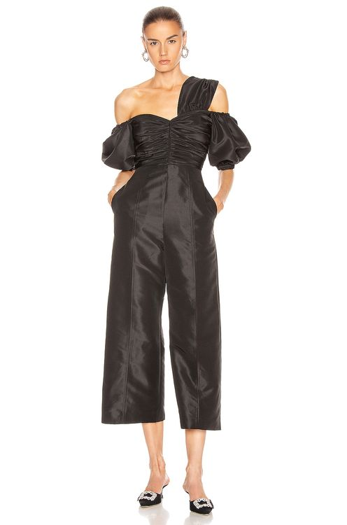 Self Portrait One Shoulder Jumpsuit