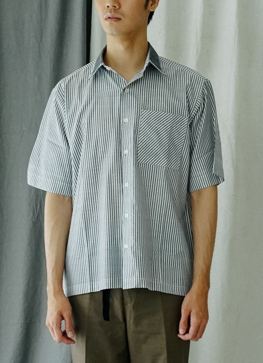 Noetic Wear Stripes Shirt - Gray