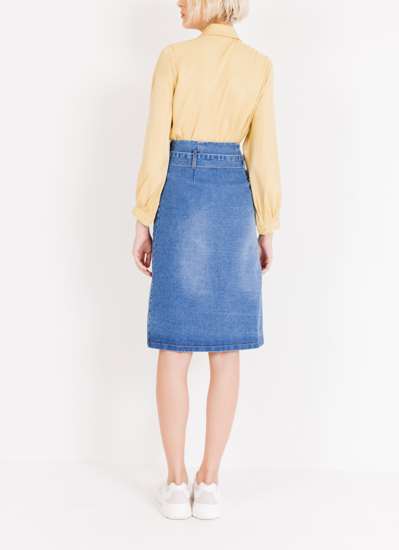 BOWN Candice Skirt - Deep blue