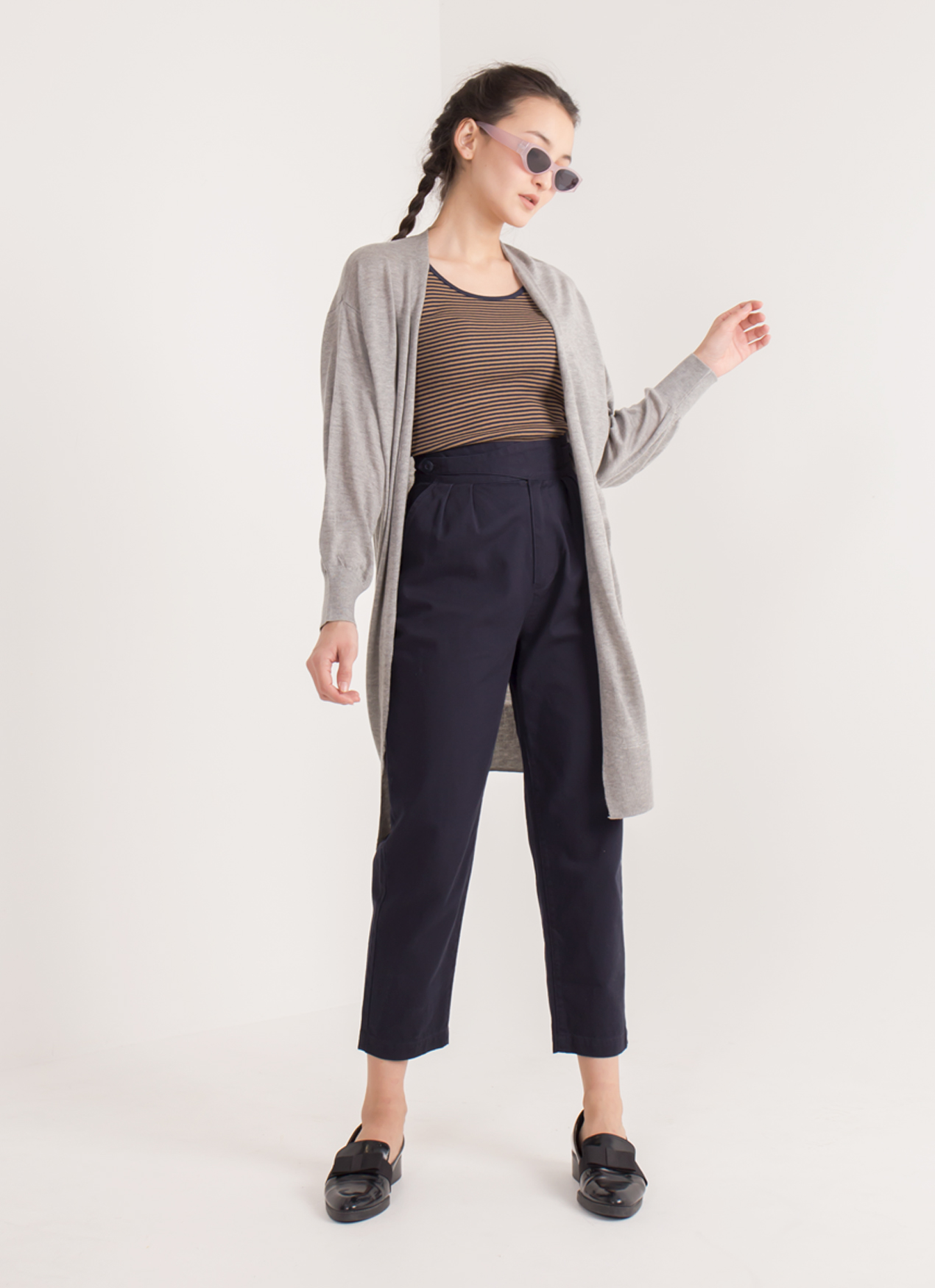 Earth, Music & Ecology Vina Cardigan - Gray Mixture