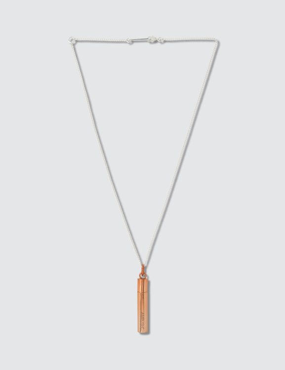 AMBUSH Bar Pendant Necklace