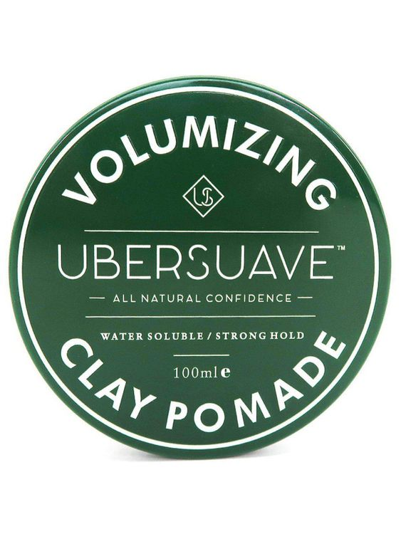 Ubersuave Ubersuave Volumizing Clay Pomade 100ml