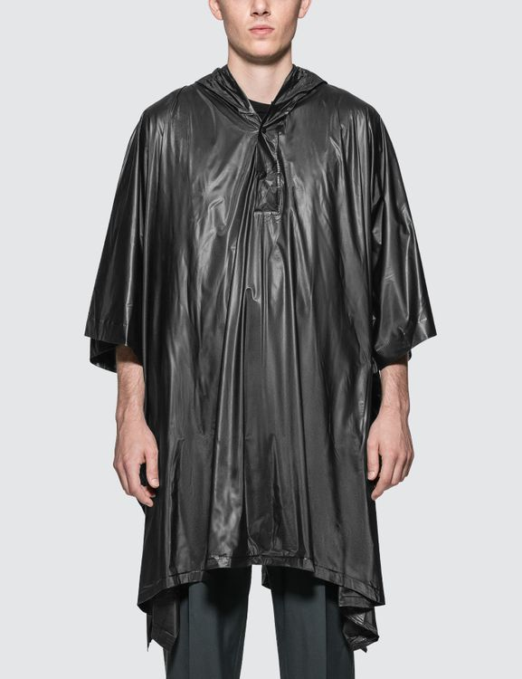 The Conveni Logo Printed Poncho