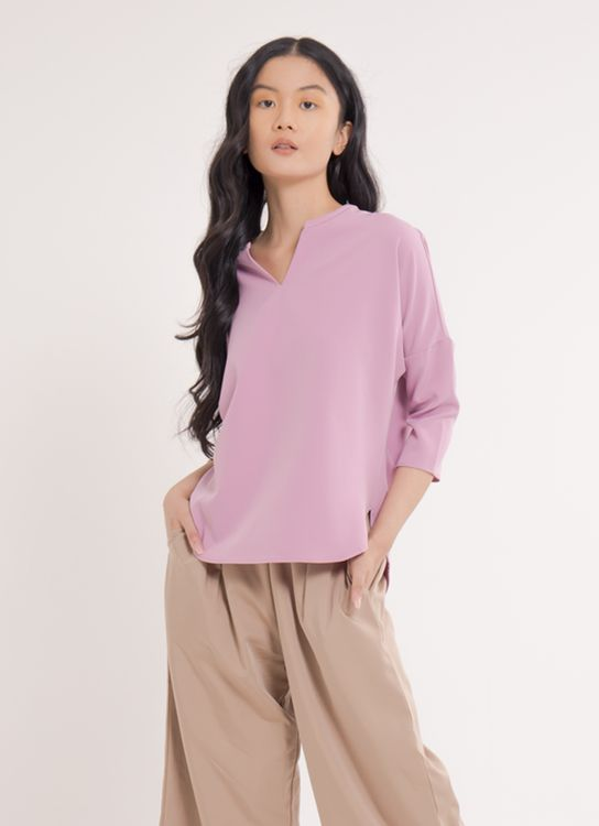 Earth, Music & Ecology Hana Top - Pink