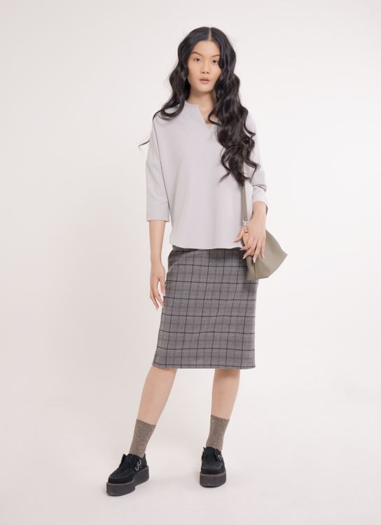 Earth, Music & Ecology Hana Top - Gray