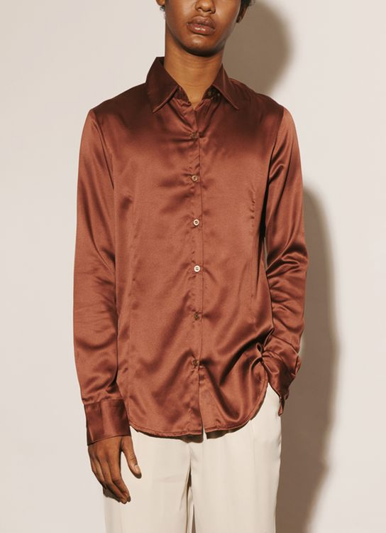 ATS THE LABEL Proper Cinnamon Shirt - Cinnamon