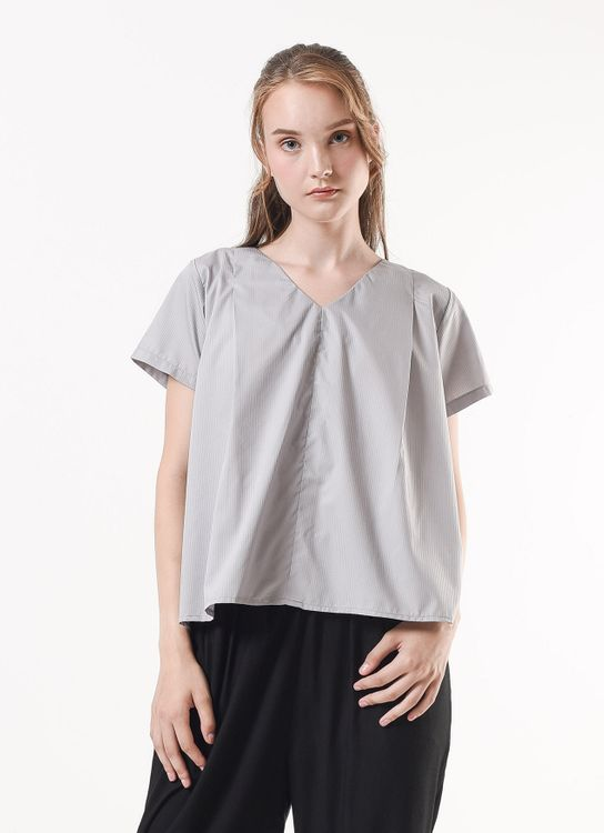Story of Rivhone Emma Top - Gray