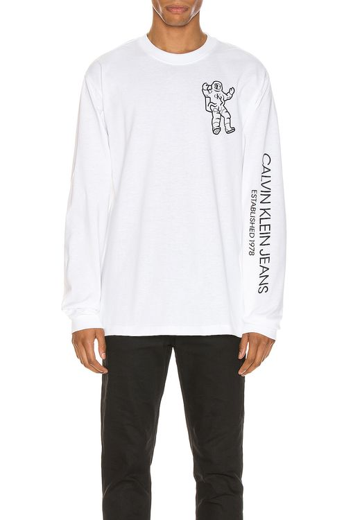Calvin Klein Est. 1978 Long Sleeve Graphic Tee