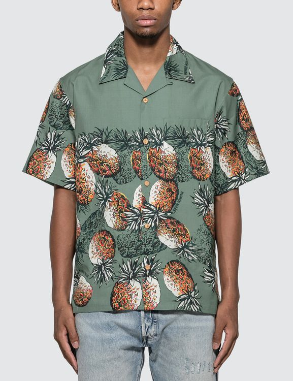 Human Made Pineapple Aloha Shirt