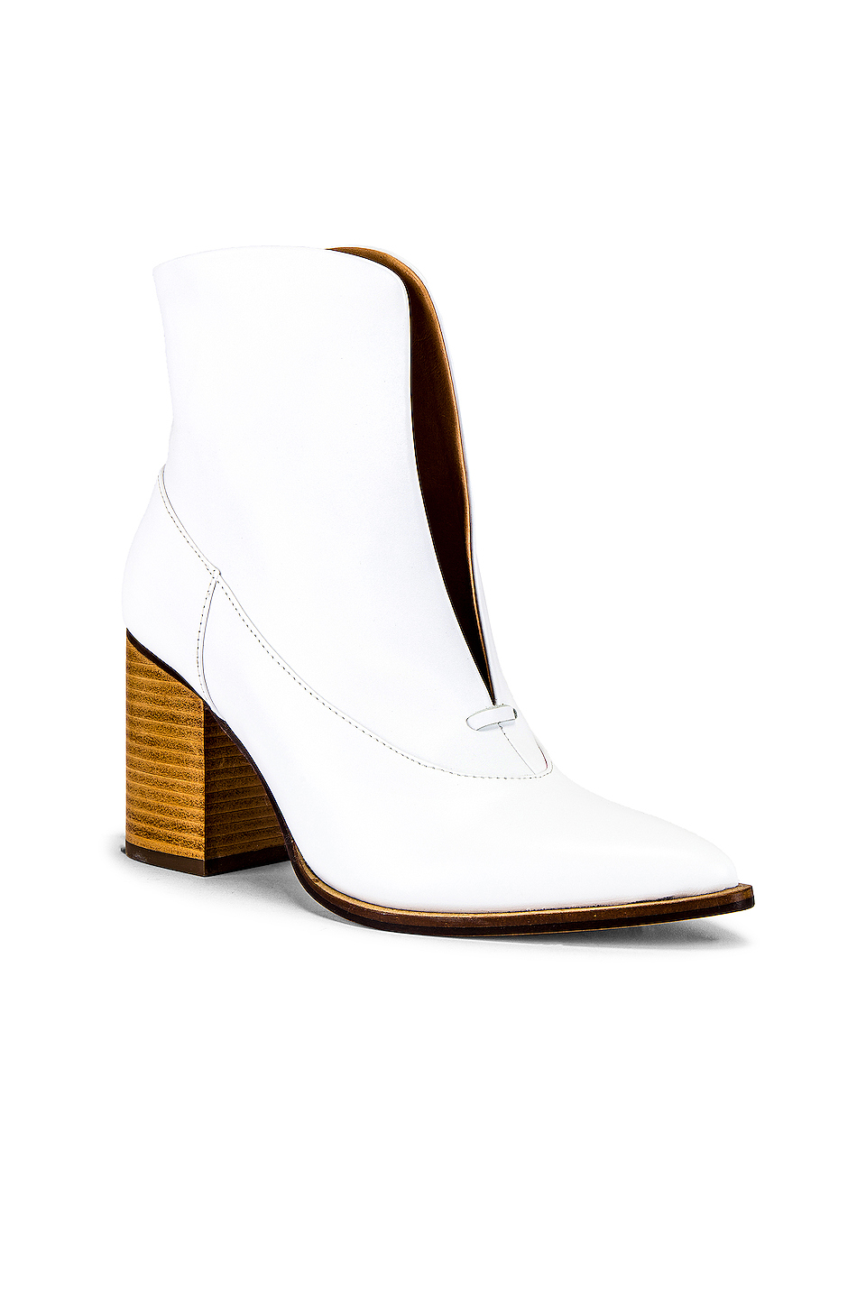 JAGGAR Scallop Ankle Bootie