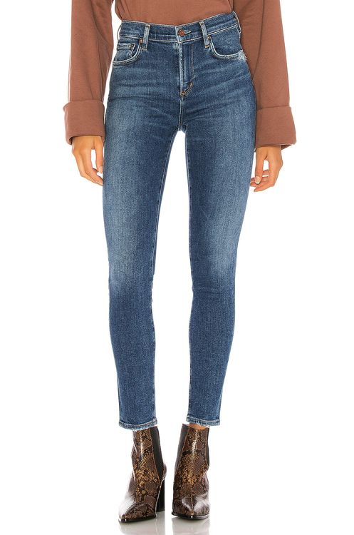 AGOLDE Sophie High Rise Ankle Skinny