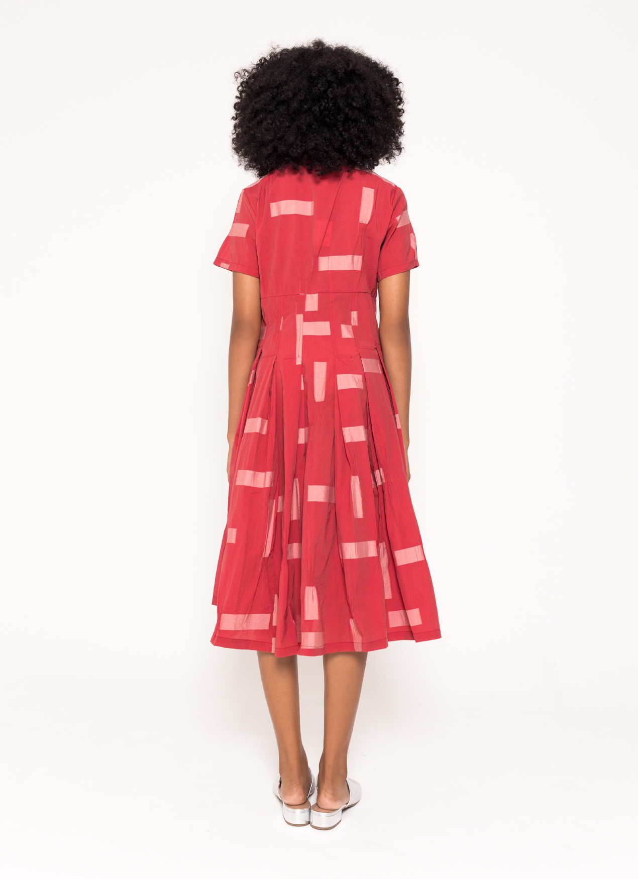 BOWN Janel Dress - Red