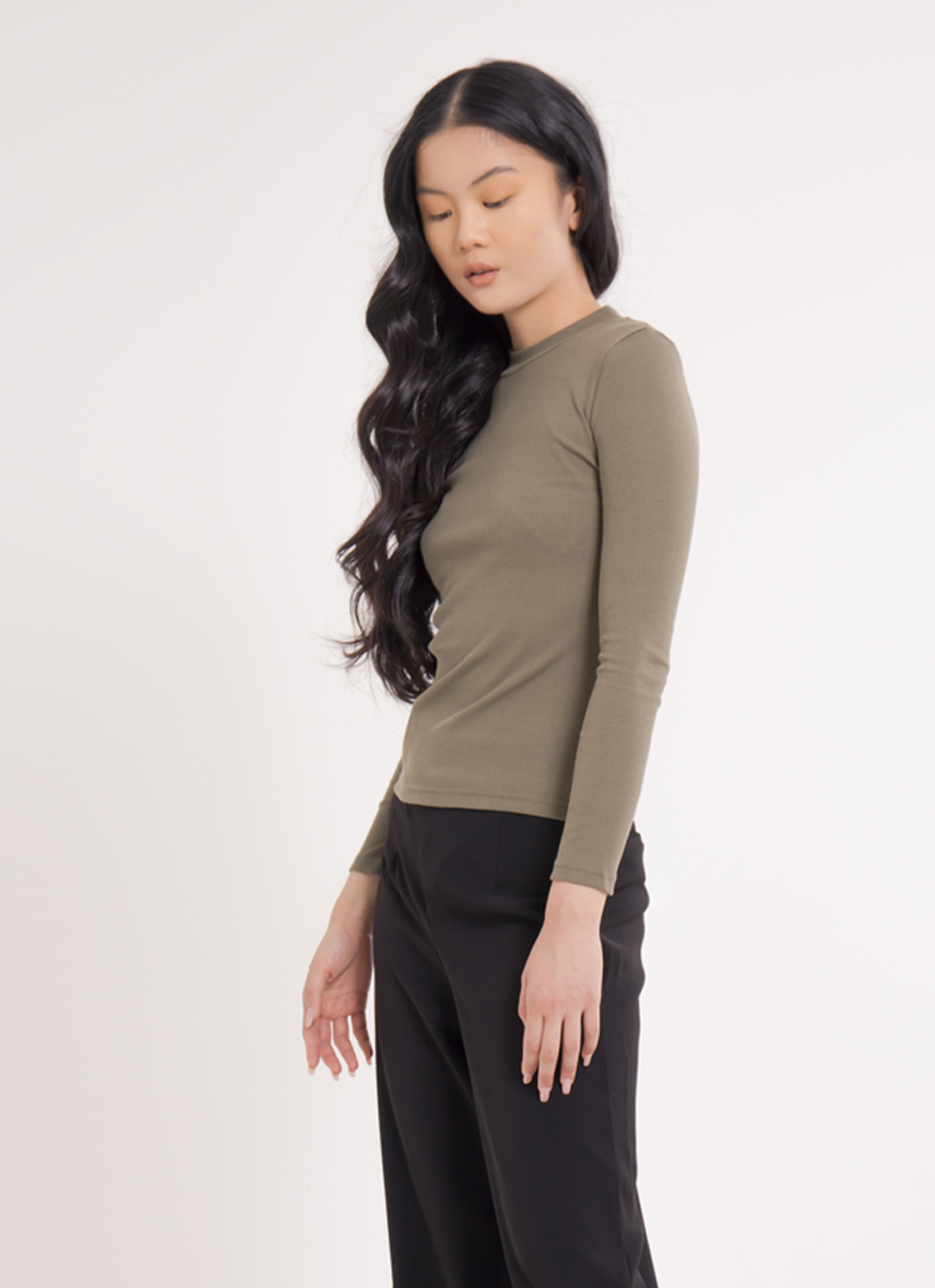 Earth, Music & Ecology Marie Top - Khaki