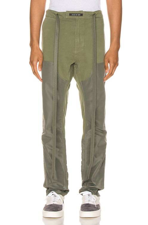 Fear of God Nylon Canvas Double Front Work Pant
