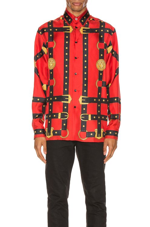 d136bde3ea Buy Original VERSACE Men Clothing Online | BOBOBOBO